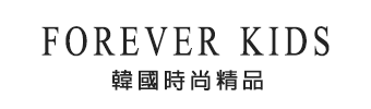 Forever Kids 正韓 好看!!反摺袖經典條紋好搭T 【AC1034】韓國代購 -Forever KIDS 韓國時尚精品